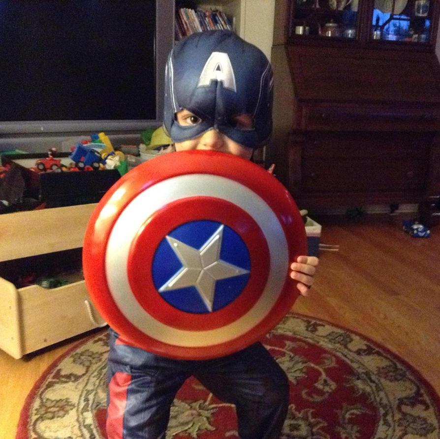 Captain America! by nekochan308