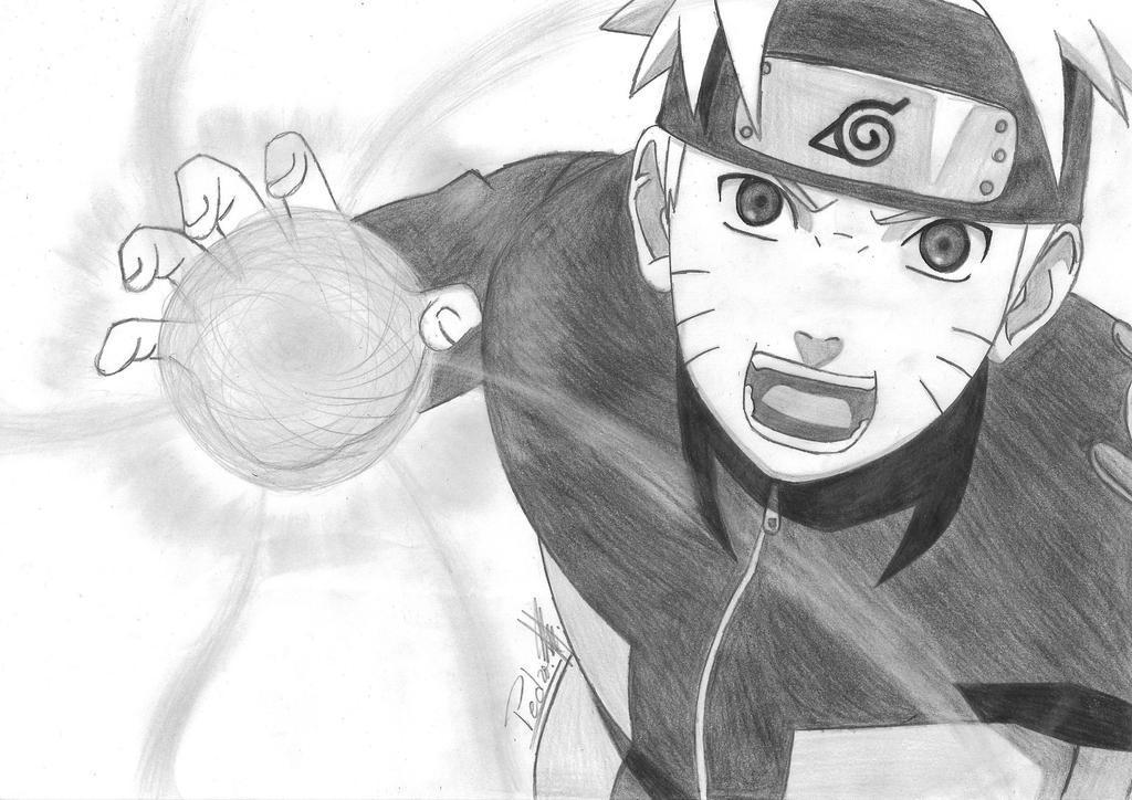 Naruto shippuuden rasengan by pedroxhp