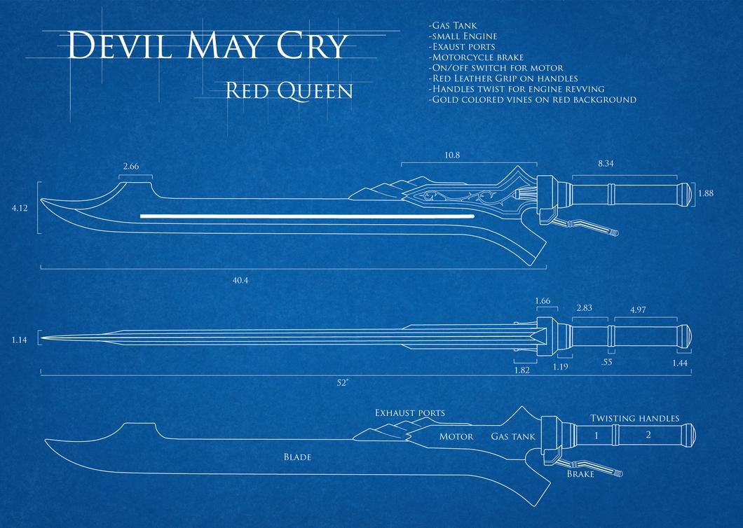 DMC4 Red Queen Blueprint by TarasqueProductions on DeviantArt
