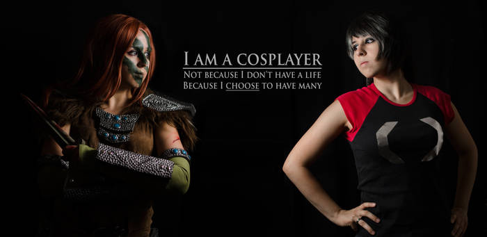 I am a Cosplayer