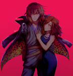 Vanderwood and Lilith-the-5th by dragonpigeons
