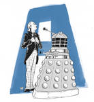 Doctor Who Letters A by J-oel