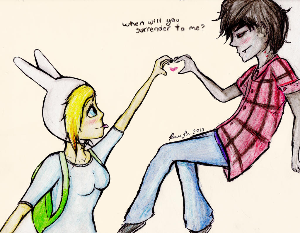 Fionna And Marshall Lee by tidepool101