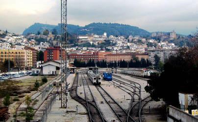 train station in Granada