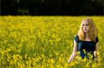 The Field of Yellow Tears by Leanan-Bloodflower