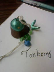 Lucky Tonberry charm by DuskStein