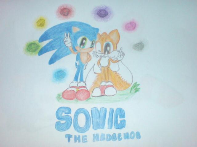 sonic the hedgehog by maramalsaied