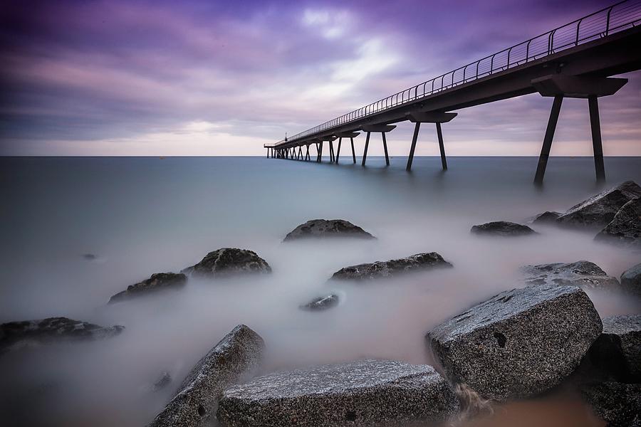 Badalona Oil Bridge by Durdenyr