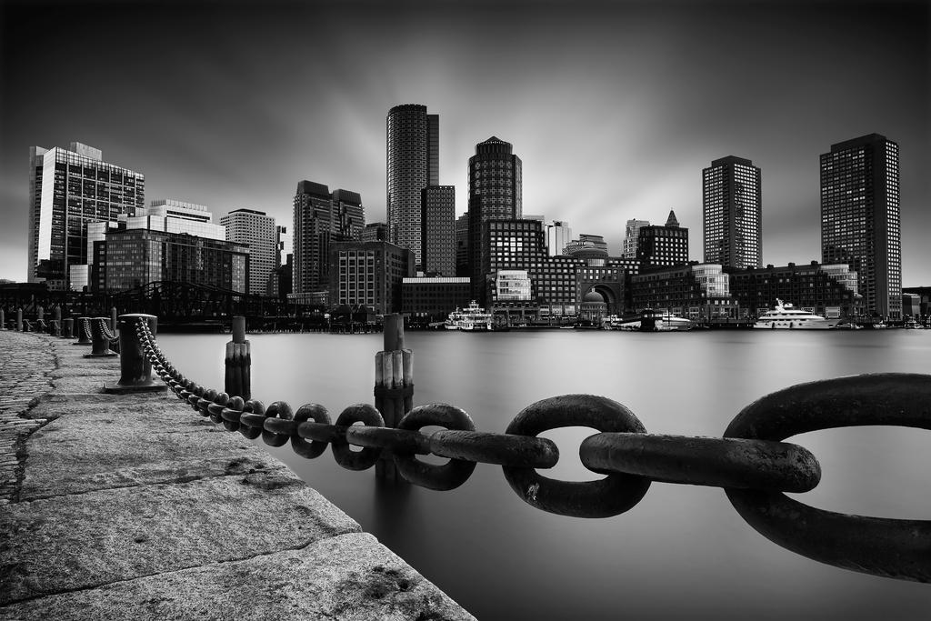 Boston Skyline by Durdenyr