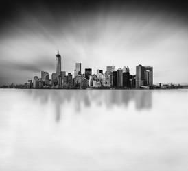 -- Manhattan Skyline -- by Durdenyr