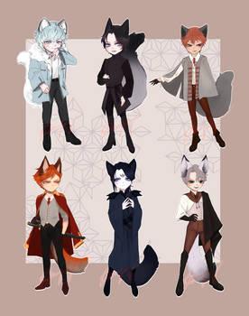 CLOSED   SET PRICE   Fox Boys