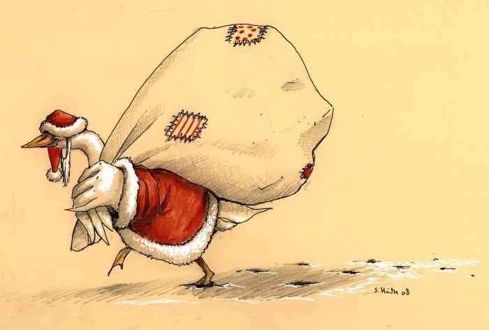 Christmas card 2008 by cidaq