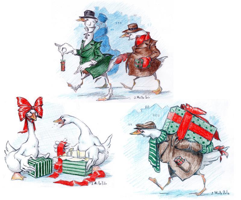 Christmas cards 2010 by cidaq