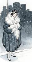 Deco Snow Princess by cidaq