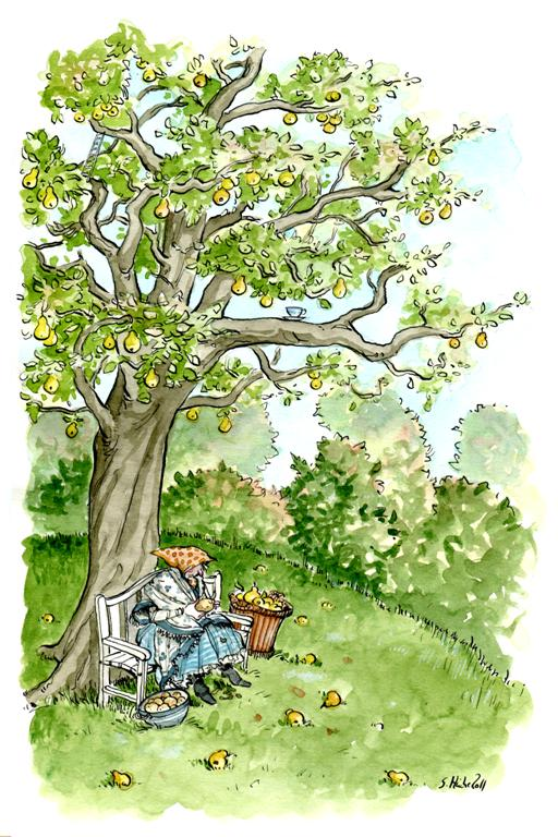 Pear Tree by cidaq