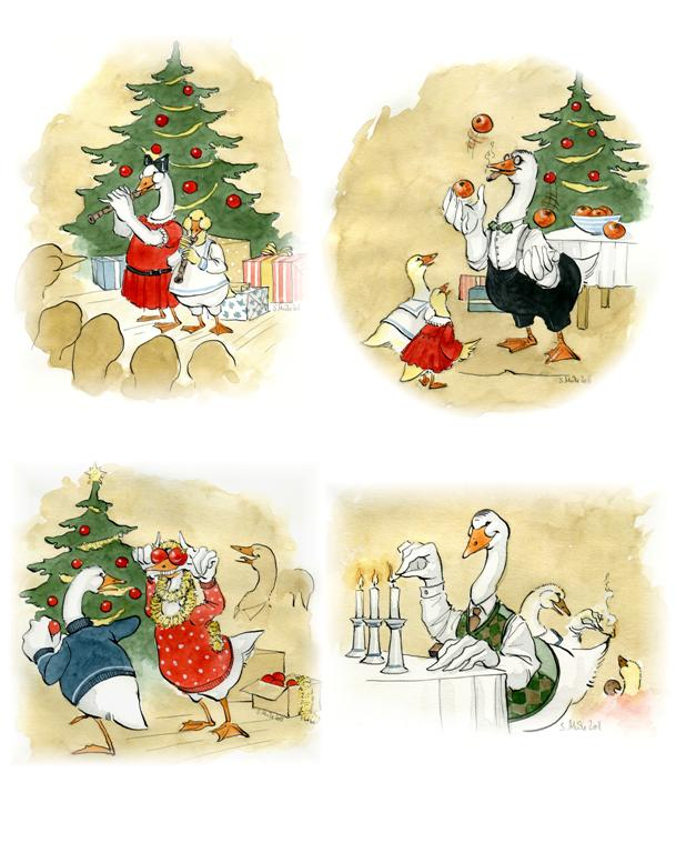 Christmas Cards 2011 by cidaq