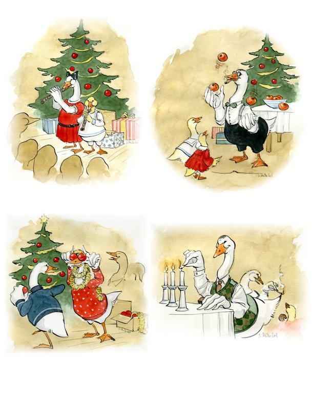 Christmas Cards 2011 by cidaq