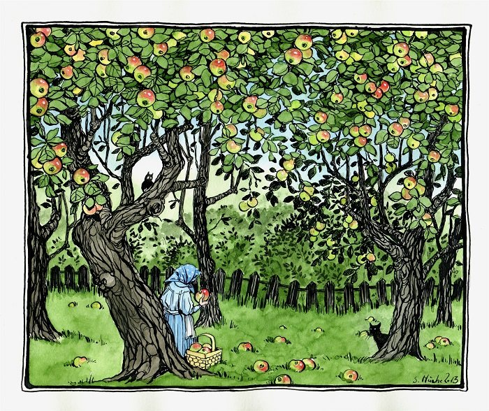 Orchard by cidaq