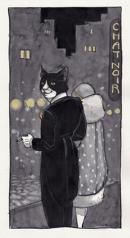 Chat Noir by cidaq
