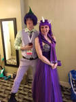 Spike and Rarity cosplay - Sparity!
