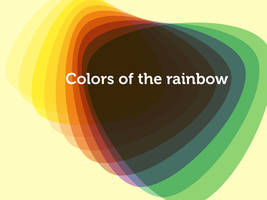 Colors of the rainbow