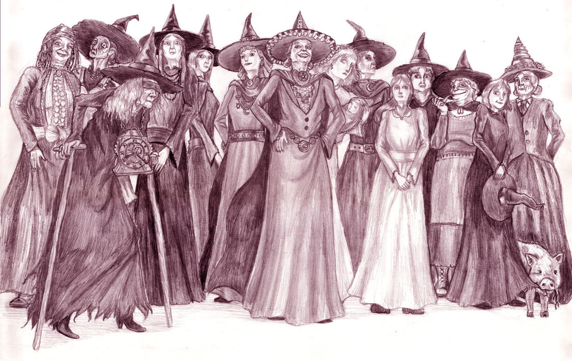 13 Ramtop Witches by AndrewSalt