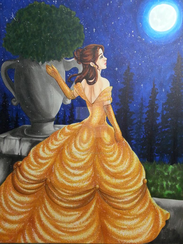Princess Belle by chelleface90