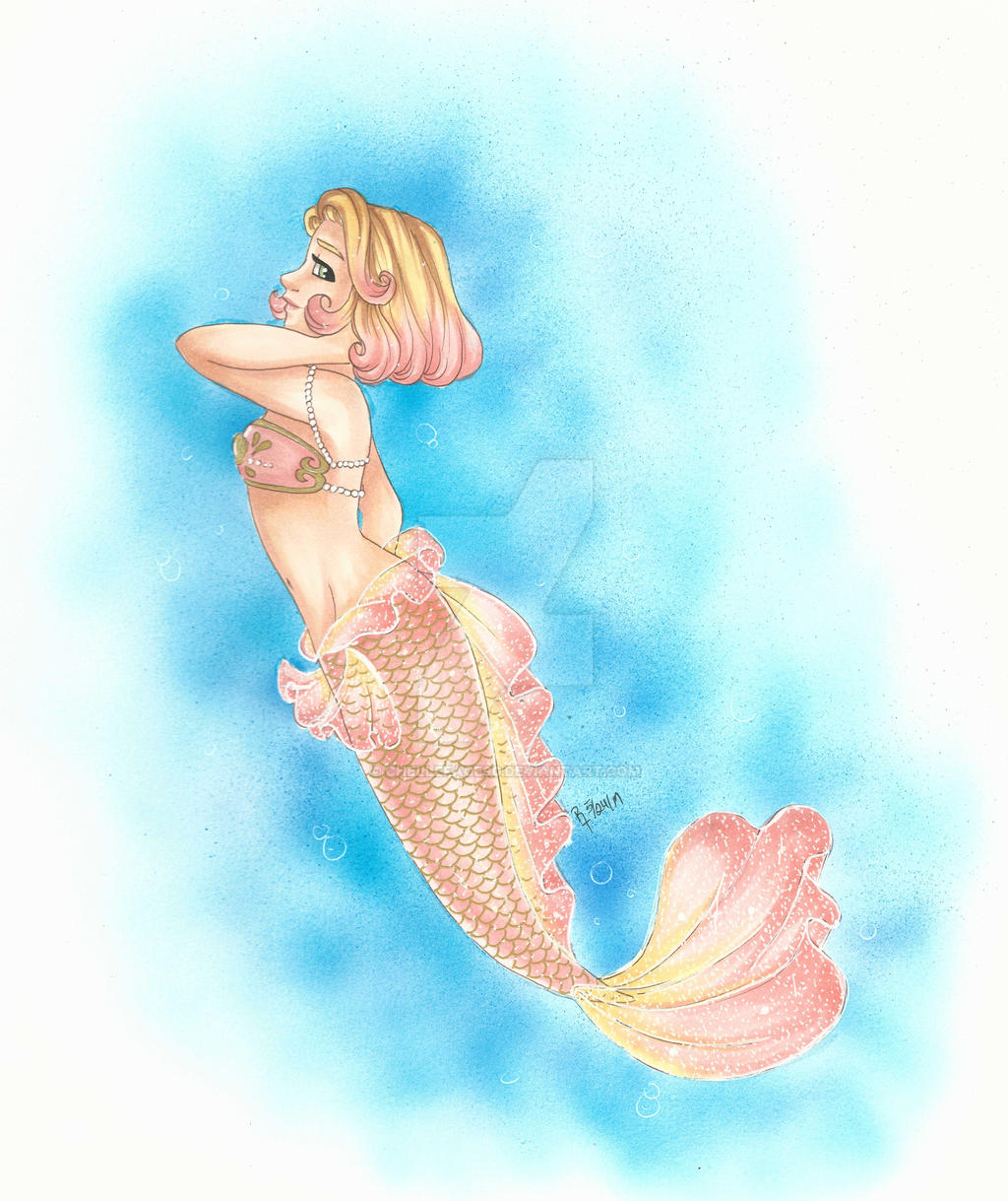 Day 21: Human as a Mermaid by chelleface90 on DeviantArt