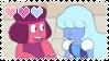 F2U Ruby x Sapphire stamp