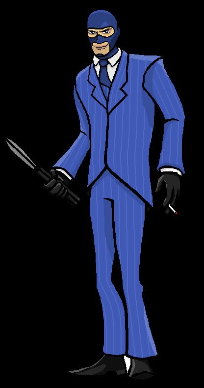 Team Fortress II Spy by gentlemankevs