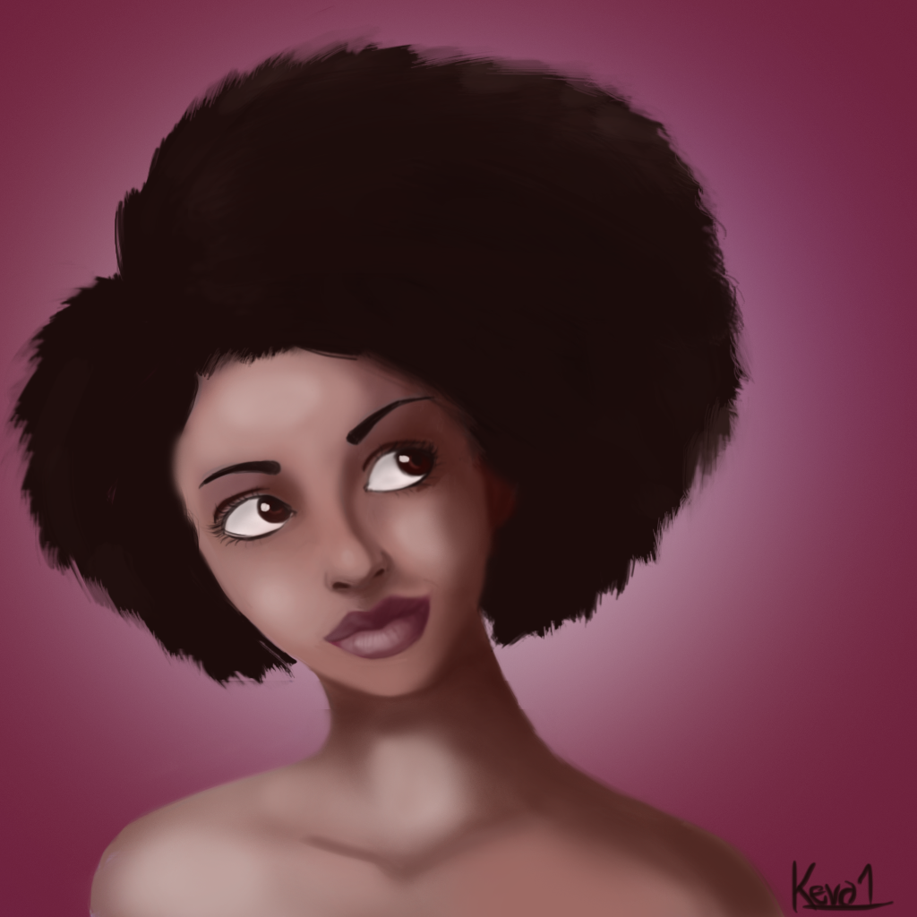Afro Beauty by gentlemankevs