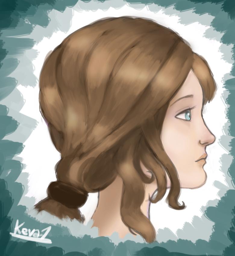 Hair Study by gentlemankevs