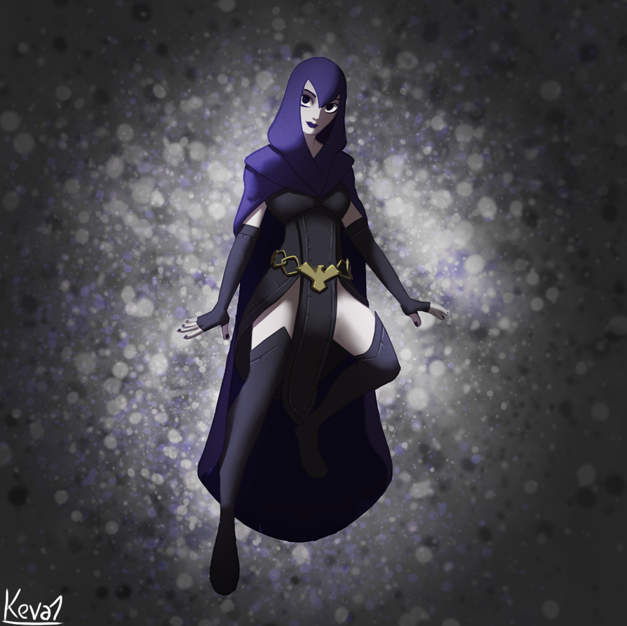 Raven redesign by gentlemankevs