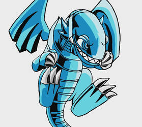 Blue Eyes Toon Dragon