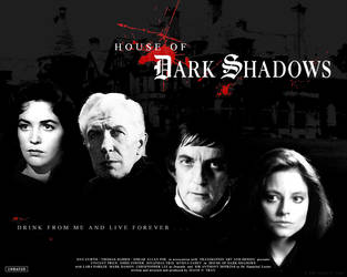 HoDS: House of Dark Shadows Ad by tranimation-art