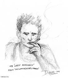 Comm: Walter Kovacs Smokin' by tranimation-art
