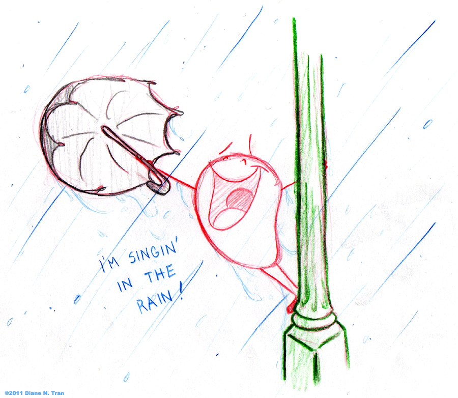 JB+P: Singin' in the Rain by tranimation-art