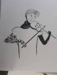 Play me like violin  by Nobber13