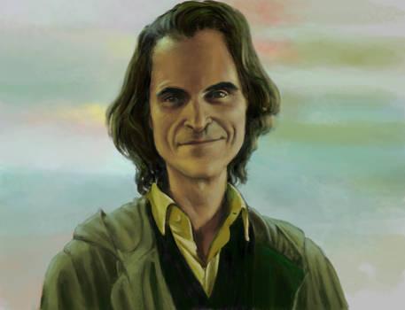 Joker. Stylized Portrait