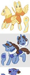 Avatar Ponies by Jaylina