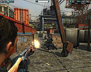 Screenshot shooter with ink