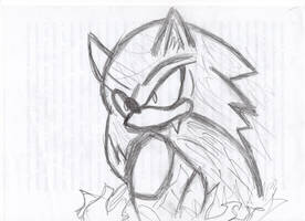 Sonic the Werehog by LiJacob888