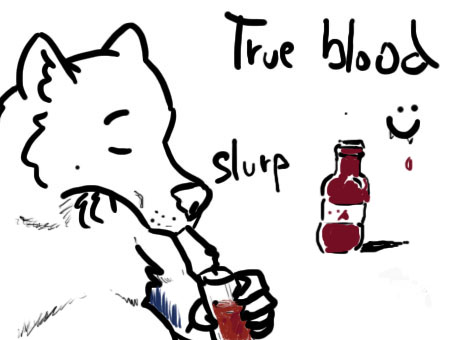True blood Wolf 2 by Guerio