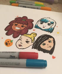 More copic doodleses