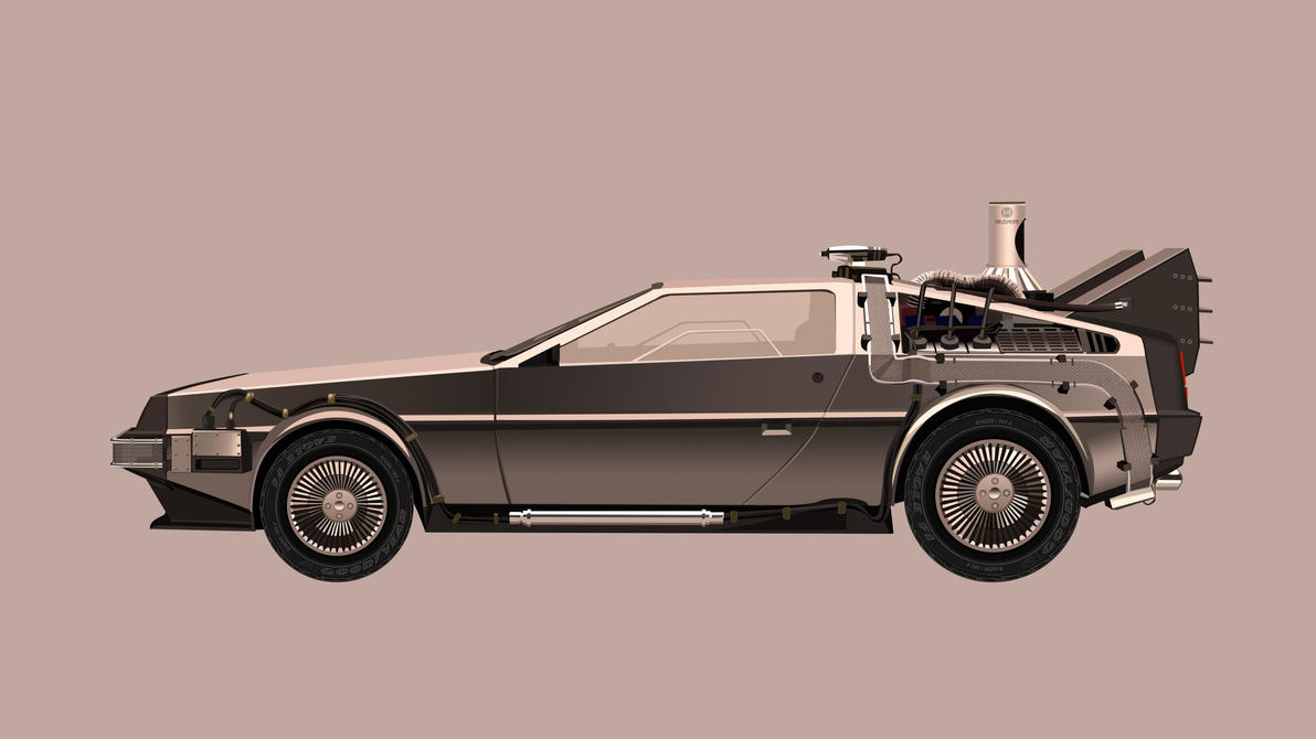 Delorean Back To The Future By Khiunngiap On DeviantArt