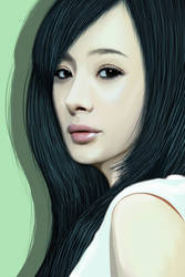 Lady portrait by khiunngiap