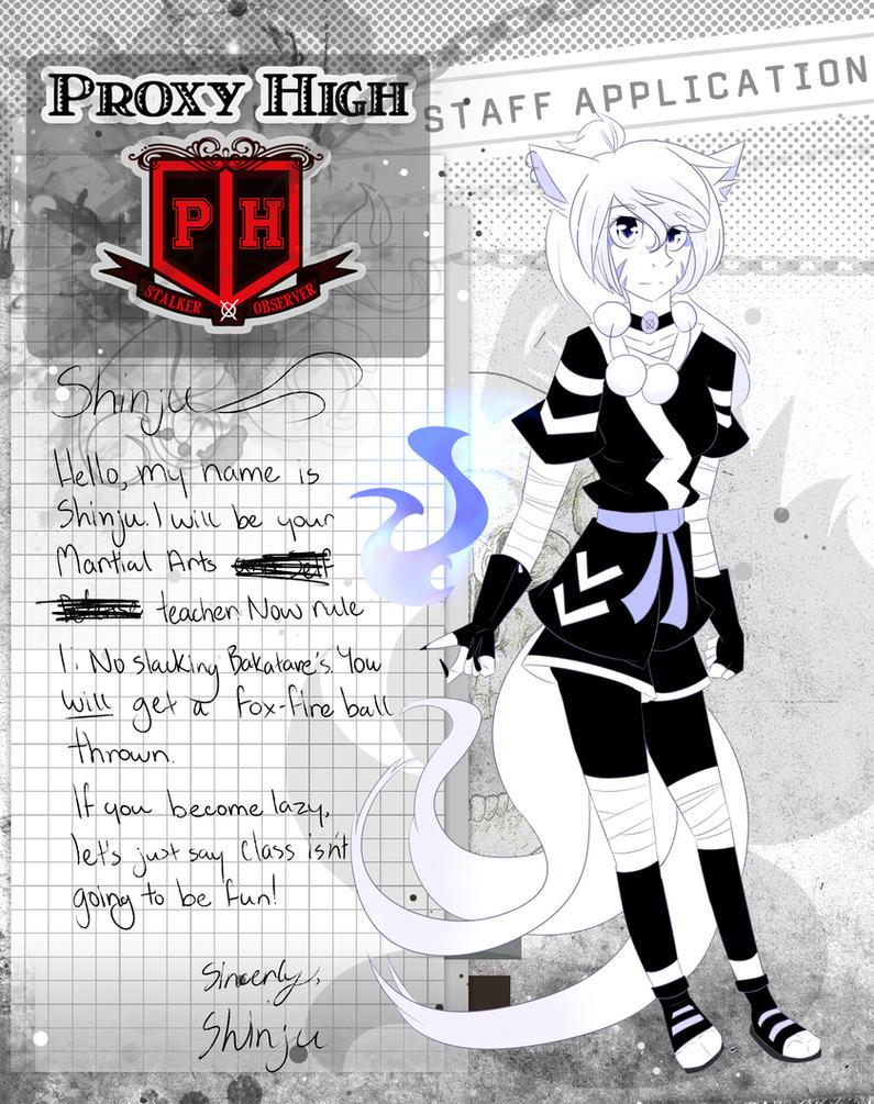PH Staff ID|Shinju by BloodyMangle