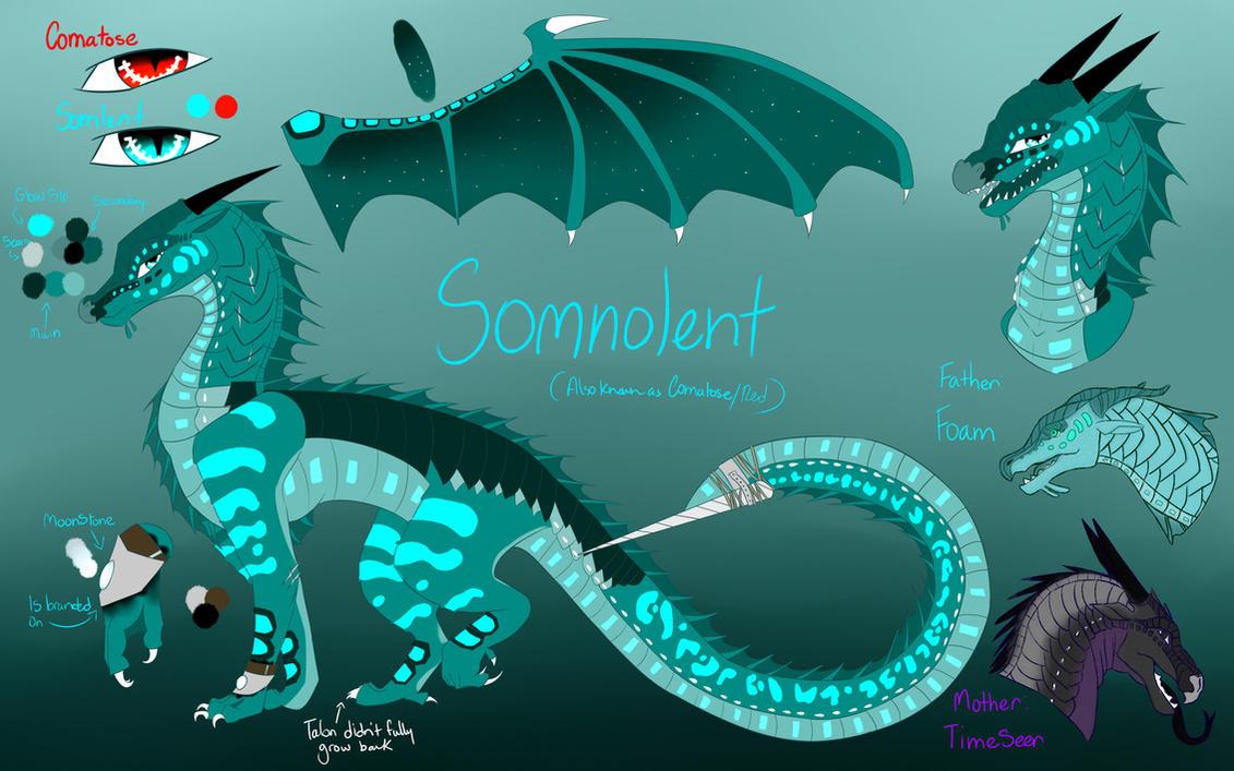 WOF Dragonsona|Somnolent/Comatose by BloodyMangle
