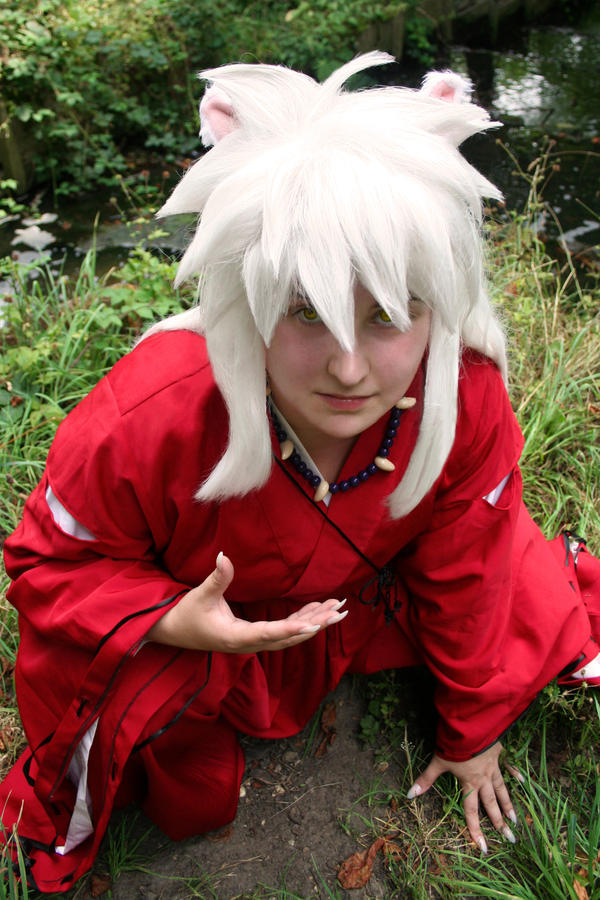 Inuyasha - The Half Demon by HyperLittleNori