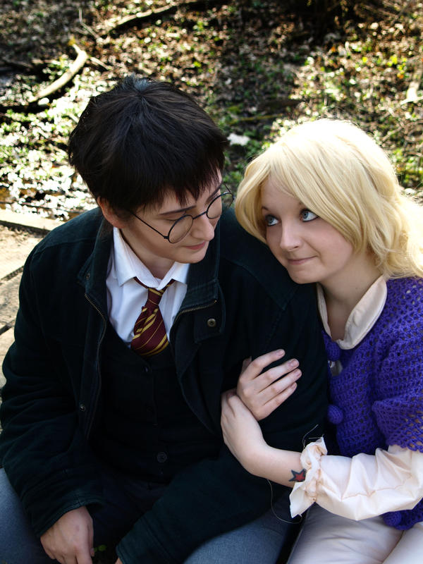 Harry Potter and Luna Lovegood Cosplay- BrainFuzzy